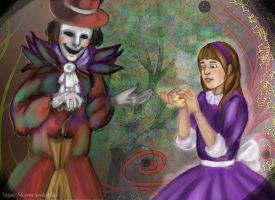 Alix and the jester by ProKotikov