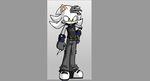 Nex  Satsugaisha the chaos of light hedgehog OC by DerekWatterson