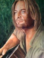 Sawyer close up by EshiraArt