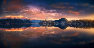 panorama of bled II by roblfc1892