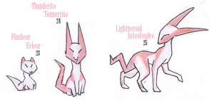 23, 24 and 25 fakedex by Rena-Circa