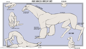 Mishe Dragon: Anatomy/Info Guide [CLOSED SPECIES] by l4wlii