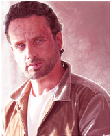 Rick Grimes by p1xer