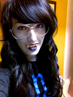 More Vriska Cosplay by elektr0Lila