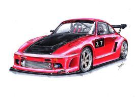 Porsche 935 Drift Car by vsdesign69