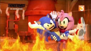A clip from a new Sonic Boom Episode 2/5 Sonamy by BlackOtakuZ