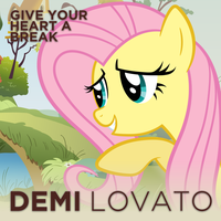 Demi Lovato - Give Your Heart a Break (Fluttershy) by AdrianImpalaMata