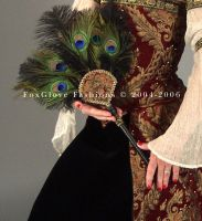 Elizabethan Ensemble Fan by FoxGloveFashions