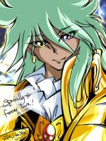 The Virgo Gold Saint (a reply to my fan's request) by RPGHunter