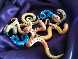 Misc Tentacles by Ooh-A-piece-of-Candy