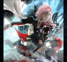 =LIGHTNING RETURNS:Final Fantasy XIII= Lightning by Emy-san