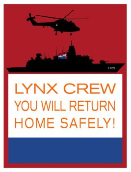 LYNX CREW MOTIVATIONAL POSTER by Dragfindel