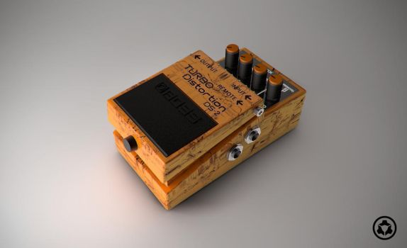 Boss DS-2 Turbo Distortion Pedal by PsihoDrill
