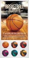 BasketBall Game Flyer Template by saltshaker911