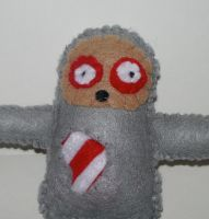 Zombie Sloth Plushie by kiddomerriweather