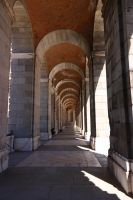 Palace corridor by CAStock