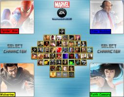 Marvel vs. EA by sprite-genius