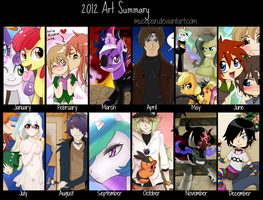 Art Summary 2012 by Musapan