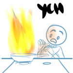 Ych Kitchen Fire (closed) by Martenmartes