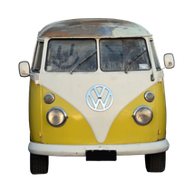 VW Van PNG Stock by jojo22