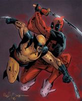 Deadpoolandwolverine by Eddy-Swan-Colors