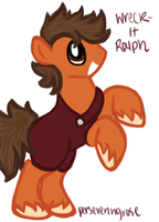 MLP Wreck-It Ralph by perseveringrose