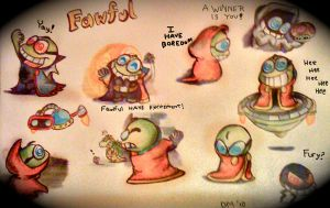 This page have Fawful by Beeju