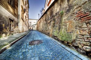 Prague's street by dandude666