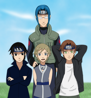 Naruto OC Team by Tora-chi
