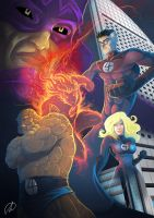 FANTASTIC FOUR by TheMonkey-DavidLanza