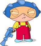 Stewie Griffin SpaceRanger by RichGinter