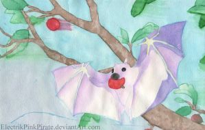 Fruit Bat by ElectrikPinkPirate