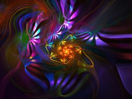 Fractal With Background 56 by Variety-Stock