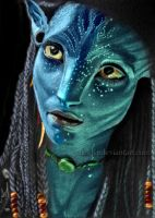 Neytiri in color by alex-lp