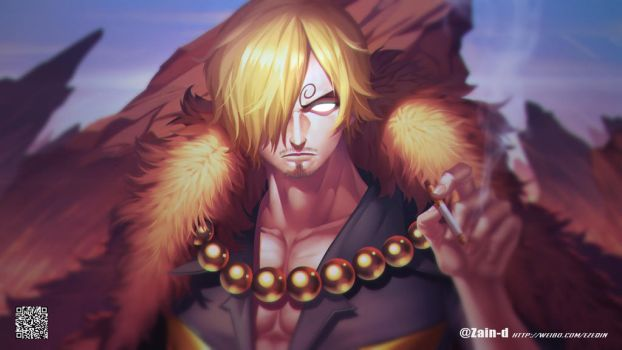 Parallel world Sanji by ZhangDing