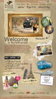 Travel Website Design for Creative Minds 2013 by Krazy-Kriti