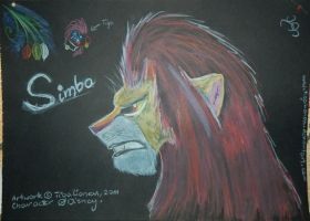 Simba XD by TigaLioness