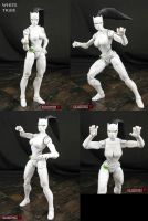 Custom Marvel Legends White Tiger Action Figure by Jin-Saotome