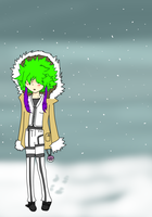 Daze's snow outfit by Neonmoon133