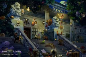 Hidden Object scene 08 by novtilus