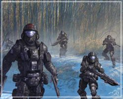ODST_Ghost by ubald007