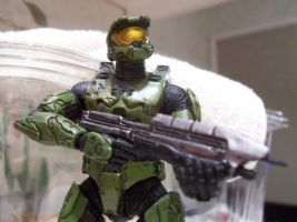 Master Chief Figure Shoot by samuswolf407