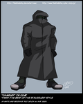 """TMNT TBOTS """"Charley"""" in Coat by theblindalley"""