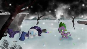 I don't want you to catch a cold, Rarity by labba94