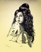 Winehouse by suyeep