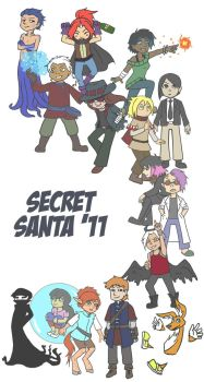 Chubbichibbi Secret Santa Xtra 2011 by Orange-Castle