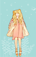 The fairytale forest wanderer by midnight-satori