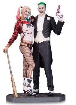 SUICIDE SQUAD - Harley Quinn and Joker statue by JamesMarsano