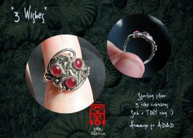 """3 Wishes"" ring by somk"