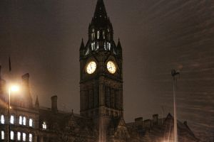 Manchester Town Hall by CelinArts